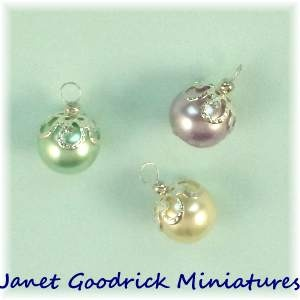Dolls House Christmas Tree Baubles