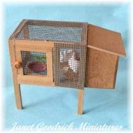 Dolls House Rabbit Hutch