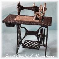 Dolls House Treadle Sewing Machine