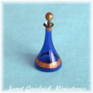 Connoisseur Blue Glass Decanter for the Dolls House