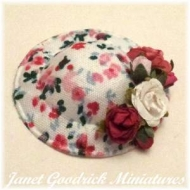 Dolls House Miniature Hat