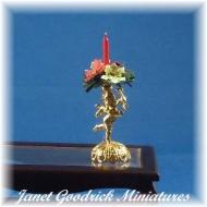 Christmas Cherub Candlestick