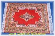 Dolls House Turkish Woven Carpet