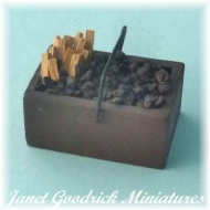 Box of Firewood and Coal