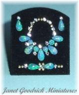 Miniature Suite of Opal Jewellery
