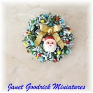 Dolls House Christmas Wreath