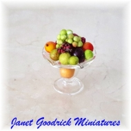Dolls House Bowl of Fruit
