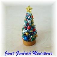 Small Dolls House Christmas Tree