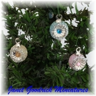 Dolls House Christmas Baubles