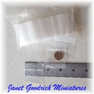 """Small Gripseal Bags 1.5"""" Sq."""