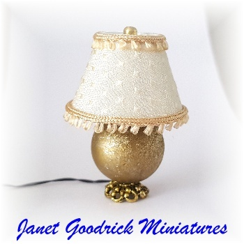 Dolls House Electric Lamp