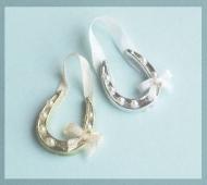 Miniature Bridal Horseshoe