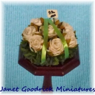 Dolls House Floral Tribute