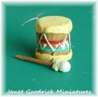 Dolls House Native American Drum