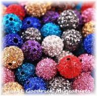 10mm Crystal Ball Beads