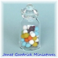 Jar of Sweets for the Dolls House.