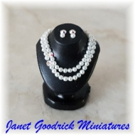 Dollhouse Pearl Necklace