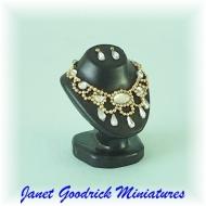 Miniature Jewellery Bust