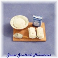 Miniature Bread Making board