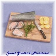 Miniature Salmon Preparation Board