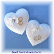 Miniature Wedding Ring Cushion