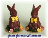 Dolls House Easter Bunny