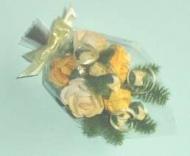 Miniature Bouquet of Paper Roses