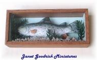 Dolls House Fish Trophy
