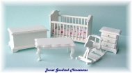 1:24 Scale Nursery Furniture