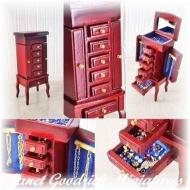 Dolls House Jewellery Cabinet