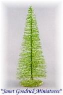 "6"" Lime Green Miniature Tree"