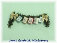 Dolls House Card Garland