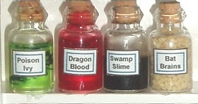 Witch and Wizard Potions
