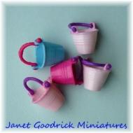 Dolls House Childrens Sand Buckets