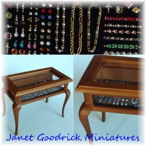 Jewellery Display Table