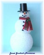 Dolls House Snowman