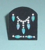 Opal necklace pad