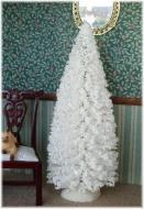 "6"" White Christmas Tree"